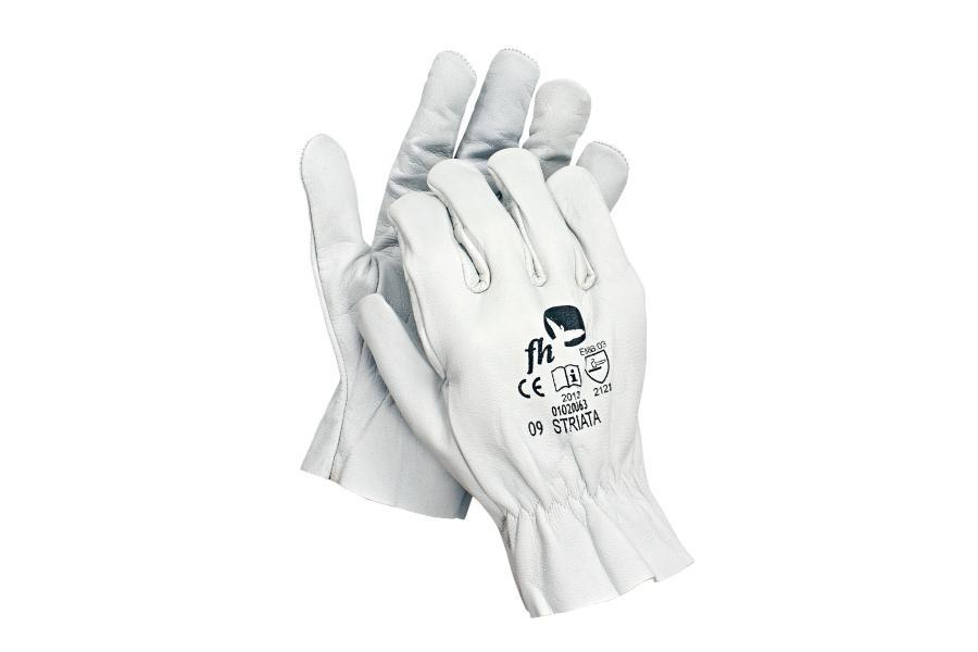 Rękawice całoskórzane