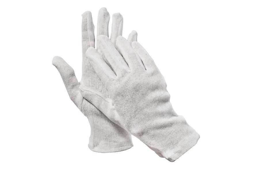 Rękawice bawełniane/ dziane